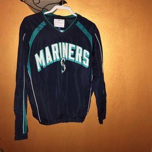Genuine Mariners Pull Over Wind shirt, Size M, EUC